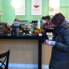 Photo taken at Comet Coffee by Ron W. on 12/21/2012