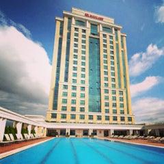 Photo taken at Marriott Hotel Asia by Deni Tanilir on 4/6/2013