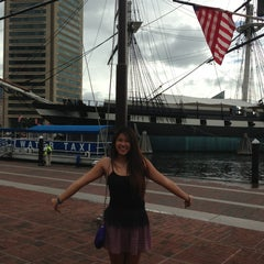 Photo taken at Historic Ships in Baltimore by Hannah B. on 8/13/2013