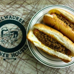 Photo taken at Milwaukee Wiener House by Kevin C. on 2/20/2013