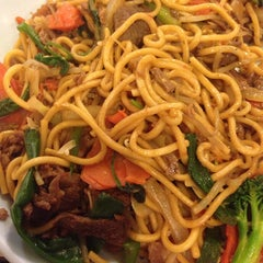 Photo taken at Golden Palace Mongolian BBQ by Laura L. on 2/9/2014