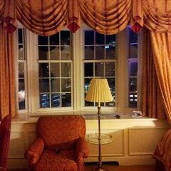 Photo taken at The Pfister Hotel by Drew on 10/20/2013