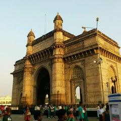 Photo taken at Gateway of India by Saif K. on 12/24/2011