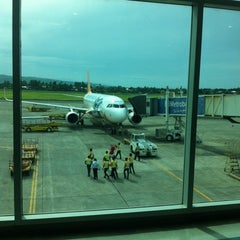 Photo taken at Francisco Bangoy International Airport (DVO) by Wilbert N. on 2/12/2014