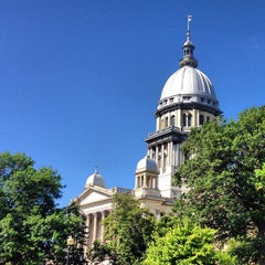 Photo taken at Illinois State Capitol by Mark L. on 7/16/2013