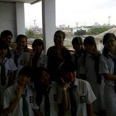 Photo taken at Sekolah Santo Paulus Jakarta by Angelica K. on 5/9/2013