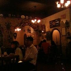 Photo taken at George & Dragon Café by Kristal T. on 2/6/2013