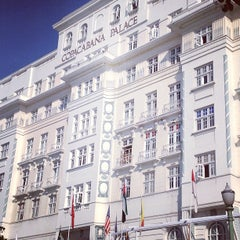 Photo taken at Belmond Copacabana Palace by Gabriel P. on 11/24/2012