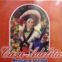 Photo taken at Casa Adelita by Mike M. on 8/5/2013