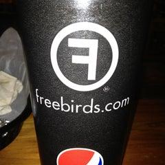 Photo taken at Freebirds World Burrito by Samuel B. on 1/31/2013