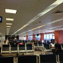 Photo taken at Aeropuerto Manuel Márquez de León (LAP) by Julio M. on 5/31/2013