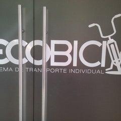 Photo taken at Ecobici 85 by Ricardo S. on 4/5/2014