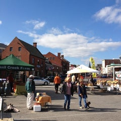 Photo taken at Annapolis Farmers Market by Ben H. on 11/4/2012
