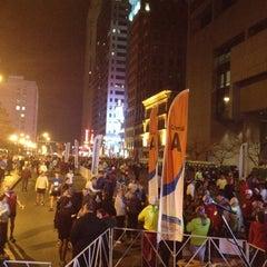 Photo taken at Nationwide Children's Hospital Columbus Marathon & 1/2 Marathon by Megumi R. on 10/21/2012