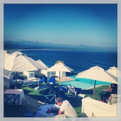 Photo taken at The Plettenberg Hotel Plettenberg Bay by chuckdafonk F. on 1/27/2014