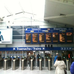 Photo taken at Dublin Connolly Railway Station by Gustavo B. on 5/18/2013