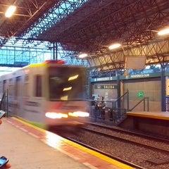Photo taken at L1 Tren Ligero Estación Dermatológico by Leonel M. on 12/30/2013