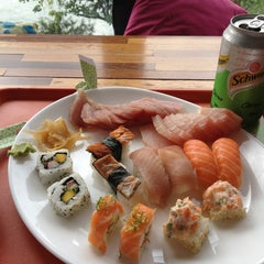 Photo taken at Wasabi Sushi by Christian S. on 5/23/2013