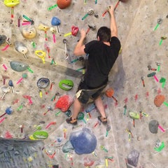 Photo taken at Red Rock Climbing Center by Heather F. on 5/26/2014