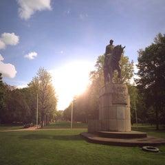 Photo taken at Zuidpark | Koning Albertpark by Koen V. on 5/15/2013