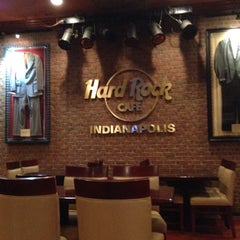 Photo taken at Hard Rock Cafe Indianapolis by Masashi S. on 6/12/2015