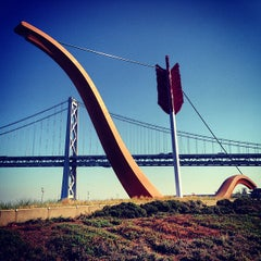 Photo taken at The Embarcadero by Deo M. on 2/1/2013