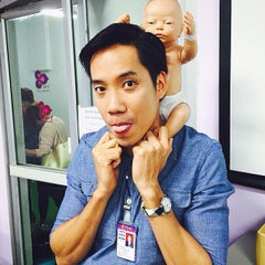 Photo taken at ศูนย์ลูกเรือ (Thai Airways Crew Center Laksi) by Pélé T. on 5/27/2015
