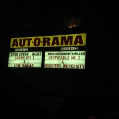 Photo taken at Aut-O-Rama Twin Drive-In Theatre by The Mystic Bucket on FB on 7/13/2013