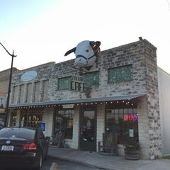 Photo taken at Texan Cafe & Pie Shop by Zach S. on 10/29/2014