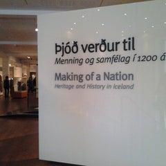 Photo taken at Þjóðminjasafn Íslands by Anna B. on 7/5/2013