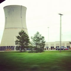 Photo taken at Davis-Besse Nuclear Power Station by Angie L. on 10/18/2011