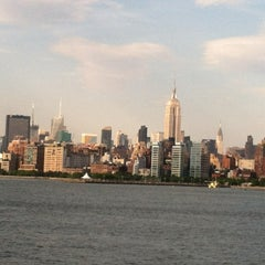 Photo taken at New York Harbor by michelle b. on 5/13/2012