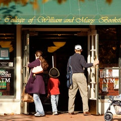 Photo taken at College of William & Mary Bookstore by William & Mary on 12/21/2011