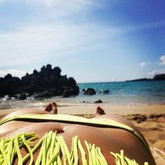 Photo taken at Waialea Beach (Beach 69) by emma t. on 6/3/2013