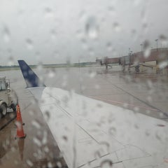 Photo taken at Capital Region International Airport (LAN) by Jon H. on 6/25/2013