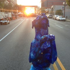 Photo taken at St Louis Art Fair by Chris M. on 9/7/2013