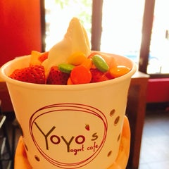 Photo taken at Yoyo's Yogurt Cafe by Ksenia❤️ on 7/2/2014