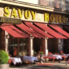 Photo taken at Hotel Savoy Berlin by Klaus H. on 7/19/2013