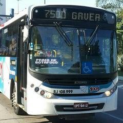 Foto tirada no(a) Linha 750D - Charitas / Gávea por AIRTON M. em 12/17/2014