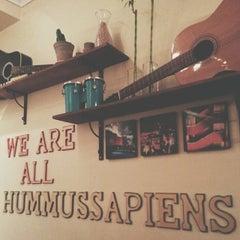 Photo taken at Reggev Hummus by Igor L. on 2/27/2014