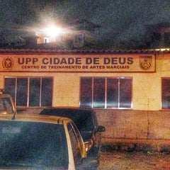 Photo taken at Cidade de Deus by Karina K. on 9/28/2014
