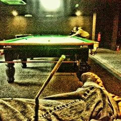Photo taken at Brewball Pool Club & Bar by Ujang  • V§ •™ on 10/21/2013