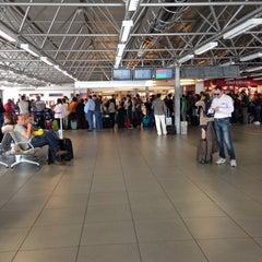 """Photo taken at Aeroporto di Roma Ciampino """"Giovan Battista Pastine"""" (CIA) by Qiqo S. on 5/28/2013"""