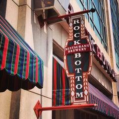 Photo taken at Rock Bottom Restaurant & Brewery by Joseph V. on 7/4/2013
