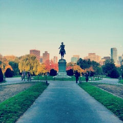 Photo taken at Boston Public Garden by Vincent C. on 10/26/2012