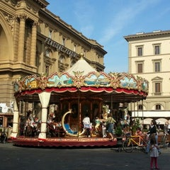 Photo taken at Piazza della Repubblica by Damon C. on 10/5/2012