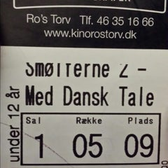 Photo taken at Ro's Torv Kino 123 by Thomas Kjærgaard J. on 9/21/2013