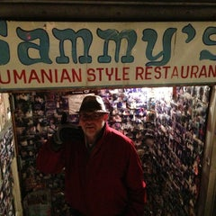 Photo taken at Sammy's Roumanian Steakhouse by Joel W. on 2/2/2013