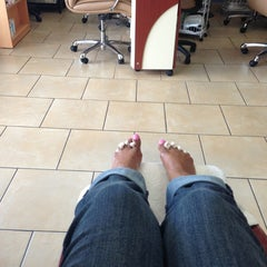 Photo taken at Luxe Nail Salon by Lynn C. on 7/6/2013