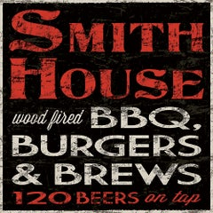 Photo taken at SmithHouse - BBQ, Burgers, Brews by SmithHouse - BBQ, Burgers, Brews on 2/7/2015